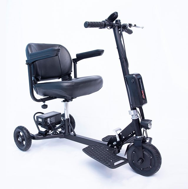 Certified Refurbished SNAPnGO Foldable Lightweight Adult Tricycle with  Premium Lithium-ion Battery, Deluxe Seat