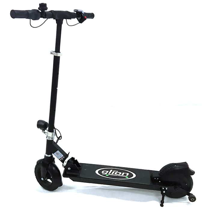Stand Up Electric Scooter >> Used Glion Dolly Foldable Lightweight Adult Electric Scooter Model 225 With Charger